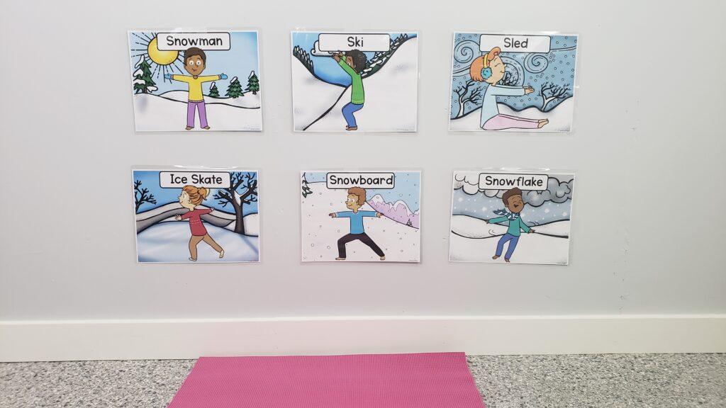 Winter Themed Yoga For Kids