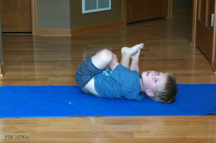 Alphabet activities! Alphabet yoga is an awesome way to add physical activity to your home, classroom or therapy. The kids are so engaged with each letter and it is SO MUCH FUN! Alphabet yoga is awesome for the classroom, morning meeting, physical education, PT, OT, SLP or at home!