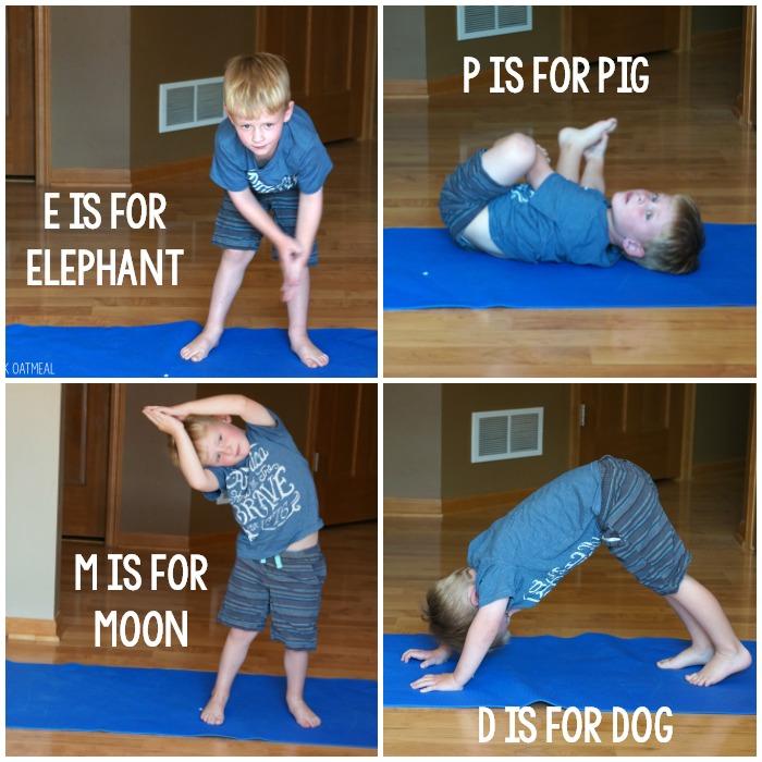 Alphabet Yoga