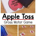 Apple themed gross motor game. A fun gross motor game with an apple theme that is perfect for the fall.