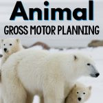 Arctic Animal Gross Motor Planning Week
