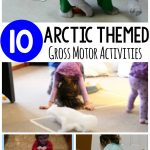 Arctic Themed Gross Motor Play Ideas