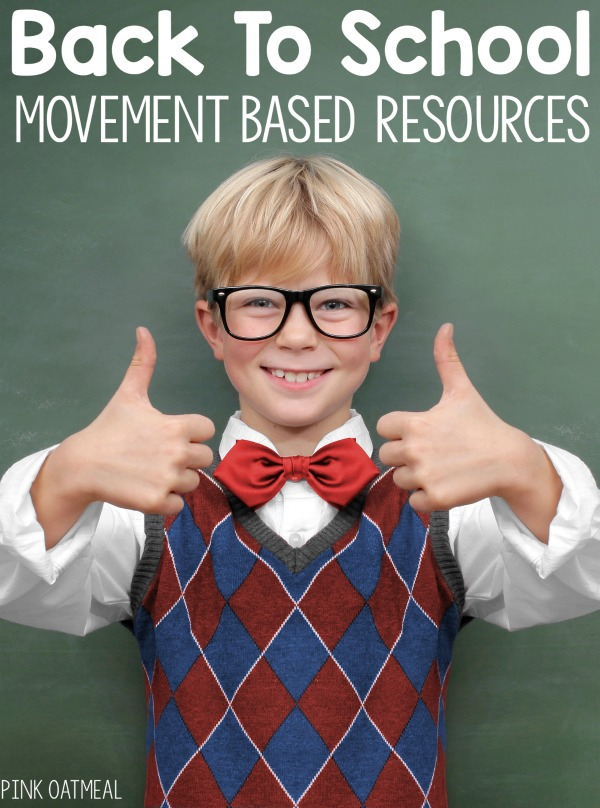 A list of some great resources to incorporate movement into the classroom or therapy. Freebies too!
