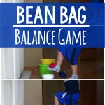 Bean Bag Balance Game