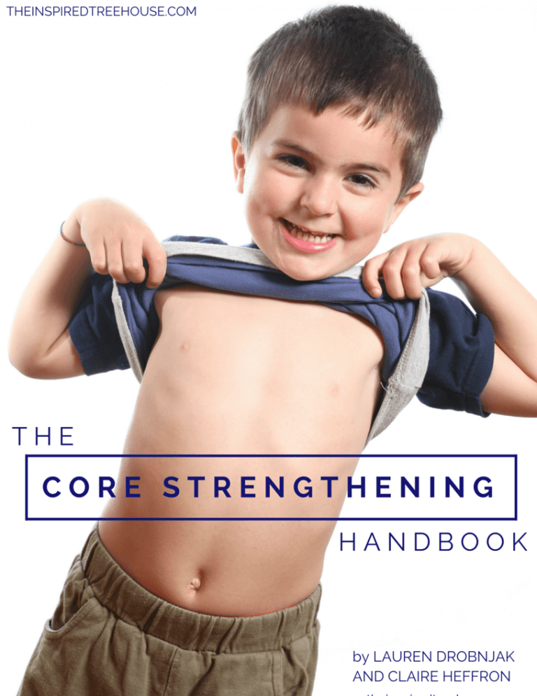 E-books for pediatric therapists -the core strengthening ebook