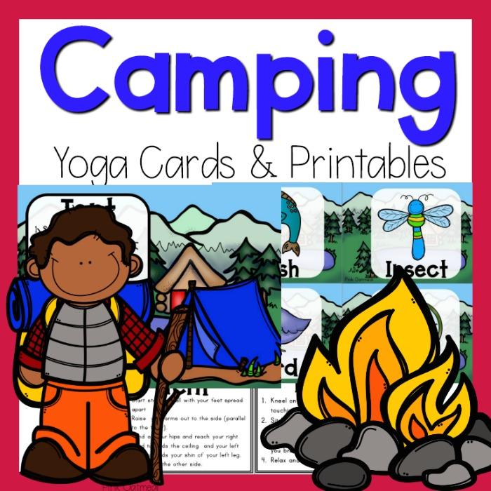 Camping Yoga | Pink Oatmeal