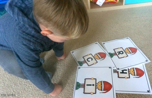 Christmas Gross Motor Game - Christmas Relay