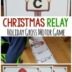 Christmas Relay – Christmas Gross Motor