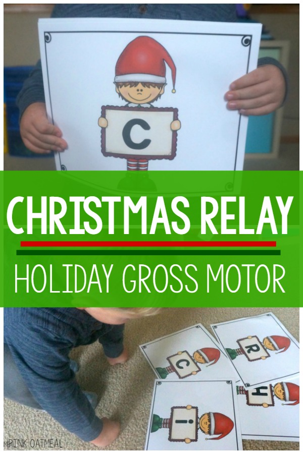 Holiday Gross Motor - Christmas Relay
