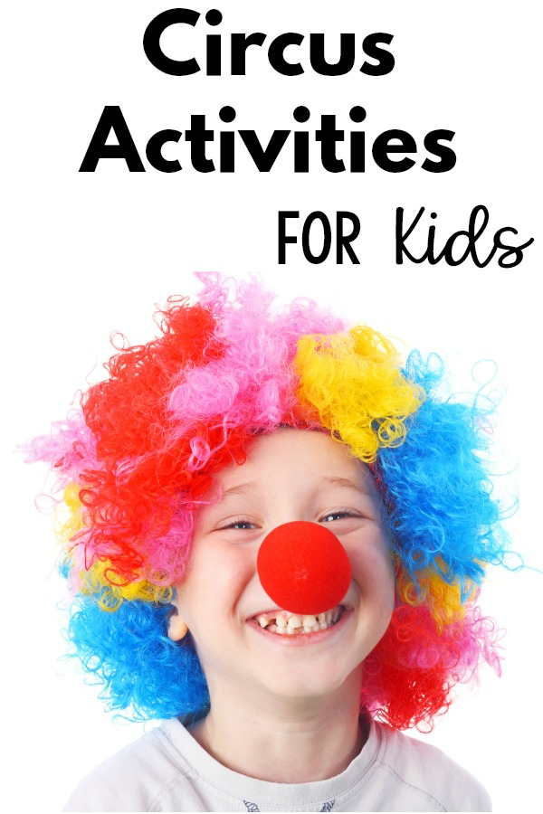 Circus Themed Activities For Kids - A great selection of relays, gross motor, and fine motor activities that all have a circus theme. These are great for a preschool circus theme or carnival theme.!