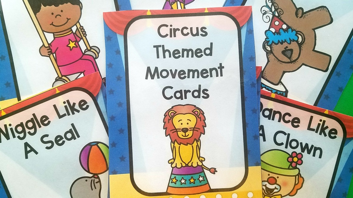 Brain Break Cards from Pink Oatmeal