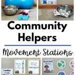 Community Helpers Theme -Movement Stations