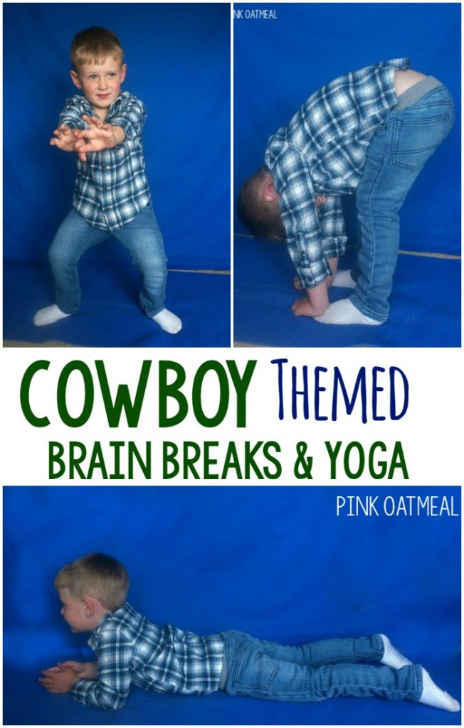 Cowboy themed activities! Perfect for cowboy gross motor. I love all the different ways to move like a cowboy!
