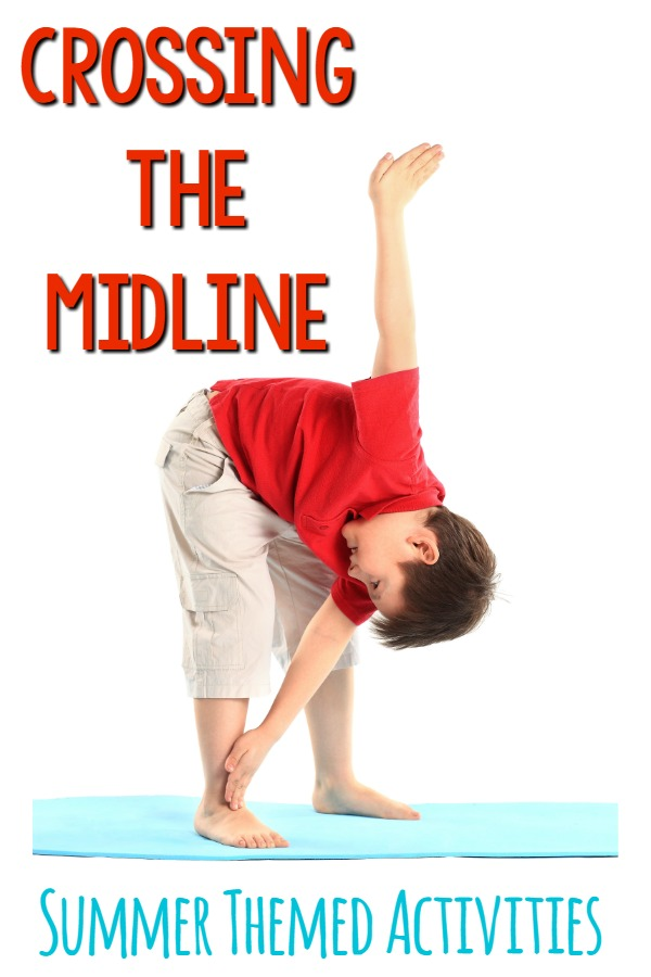 Crossing The Midline Activities – Summer Themed