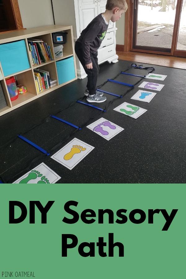 DIY Sensory Path