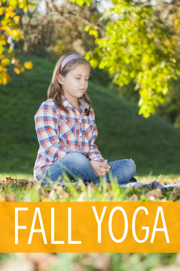 Fall Themed Yoga