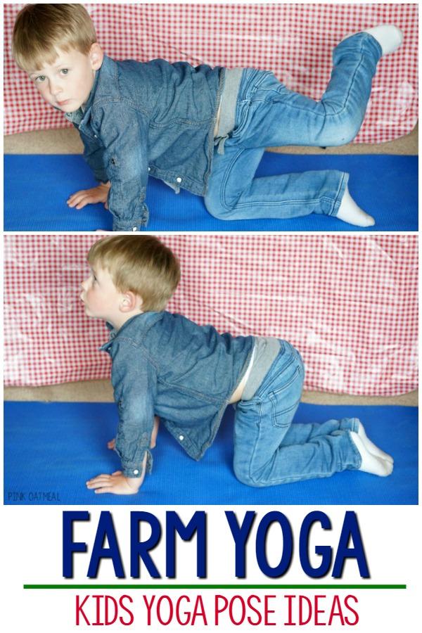 Farm Yoga And Movements Pink Oatmeal