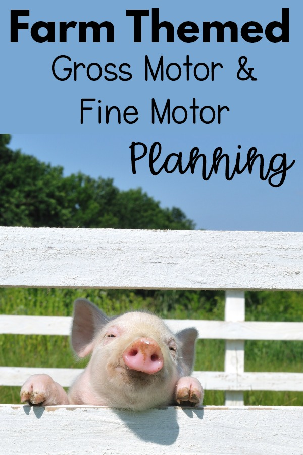 Farm Themed Motor Planning