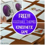 Matching With Movement – Football Themed Freebie