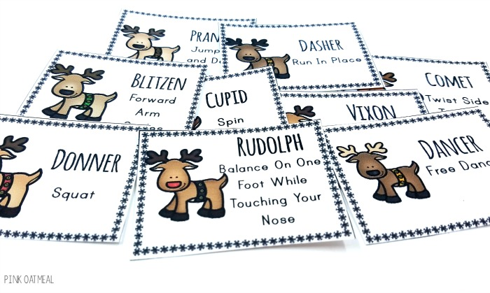Free Brain Breaks with a Reindeer Theme!