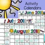Summer Gross Motor Planning – Printable Summer Activity Calendars