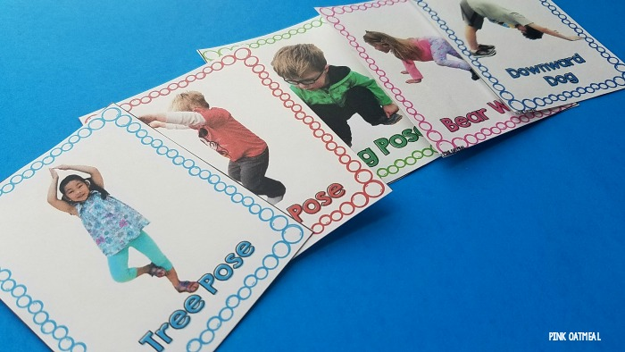 image relating to Printable Yoga Poses for Preschoolers identify Yoga Poses For Young children Printable -Cost-free Red Oatmeal
