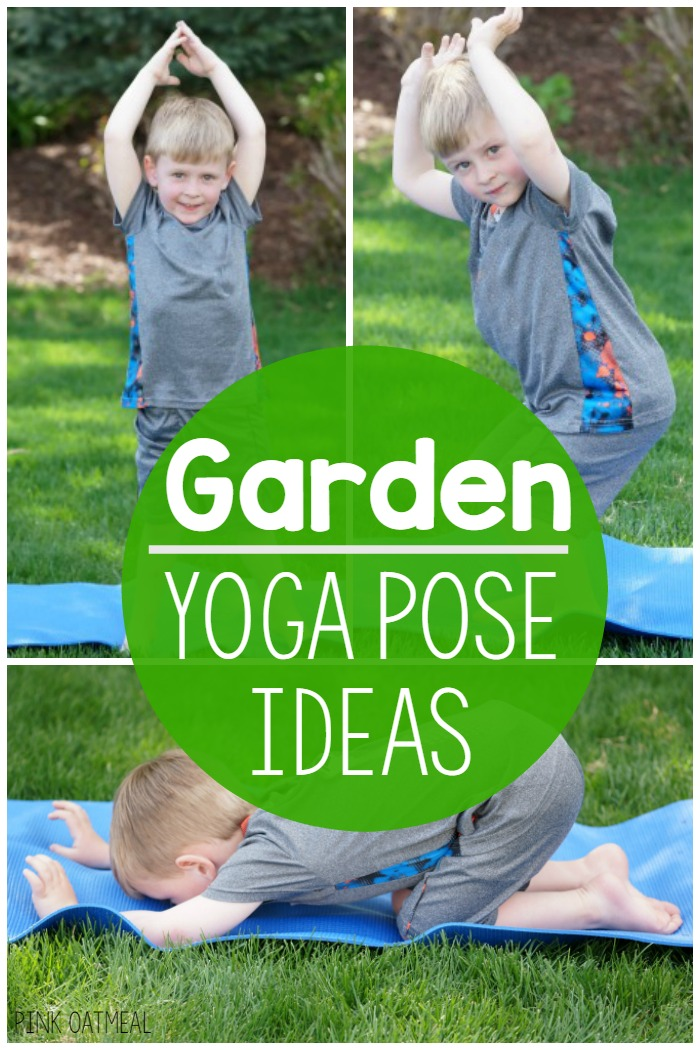 Garden Yoga Pose Ideas