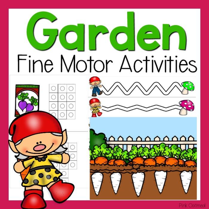 Garden Fine Motor Activities