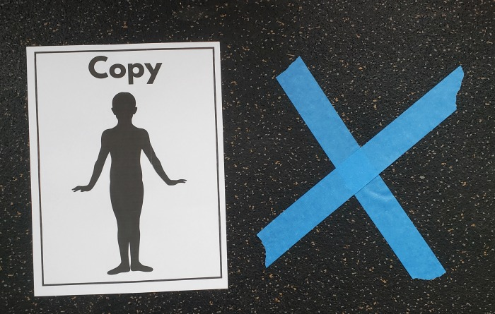 Groundhog's Day Gross Motor Activity - Shadow Game