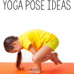 Fun kids yoga pose ideas with a Halloween Theme!