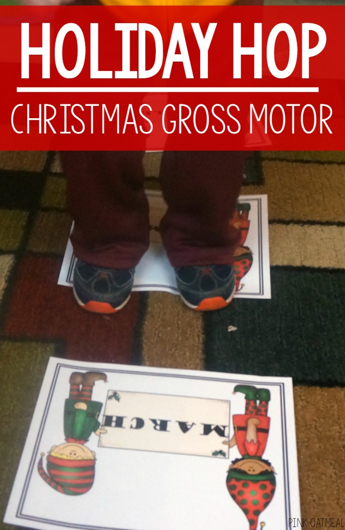 Christmas Gross Motor – Holiday Hop