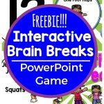Interactive Brain Breaks – Free Game