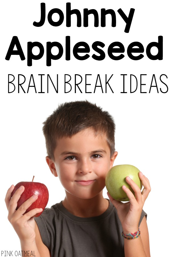 Fun movement ideas with a Johnny Appleseed theme! I love this for any apple unit!