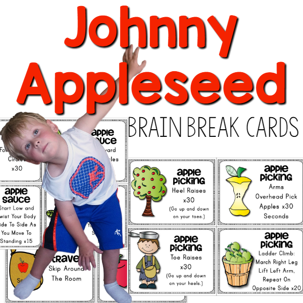 Johnny Applessed Brain Break Cover
