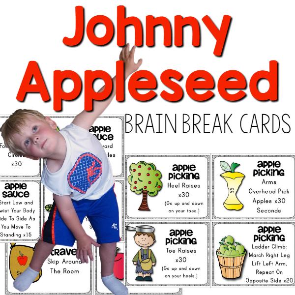 Johnny Applessed Brain Break Cover