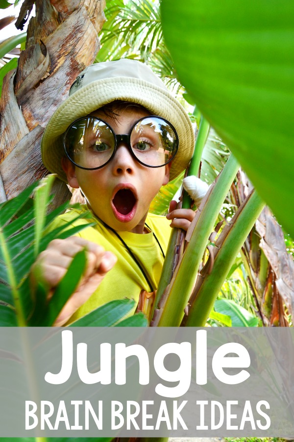Jungle Themed Brain Breaks