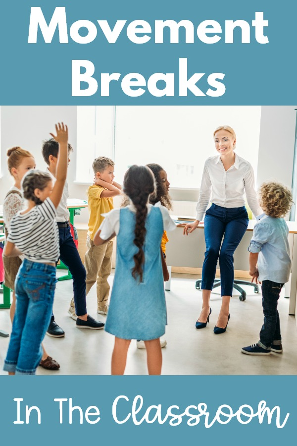 Movement Breaks In The Classroom