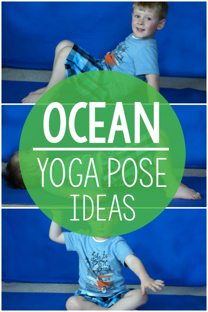 Ocean Themed Yoga