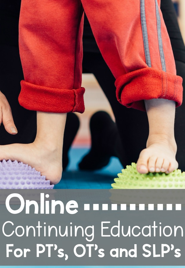 Online continuing education courses and offerings for physical therapists, occupaitonal therapist,s and speech and language pathologists.