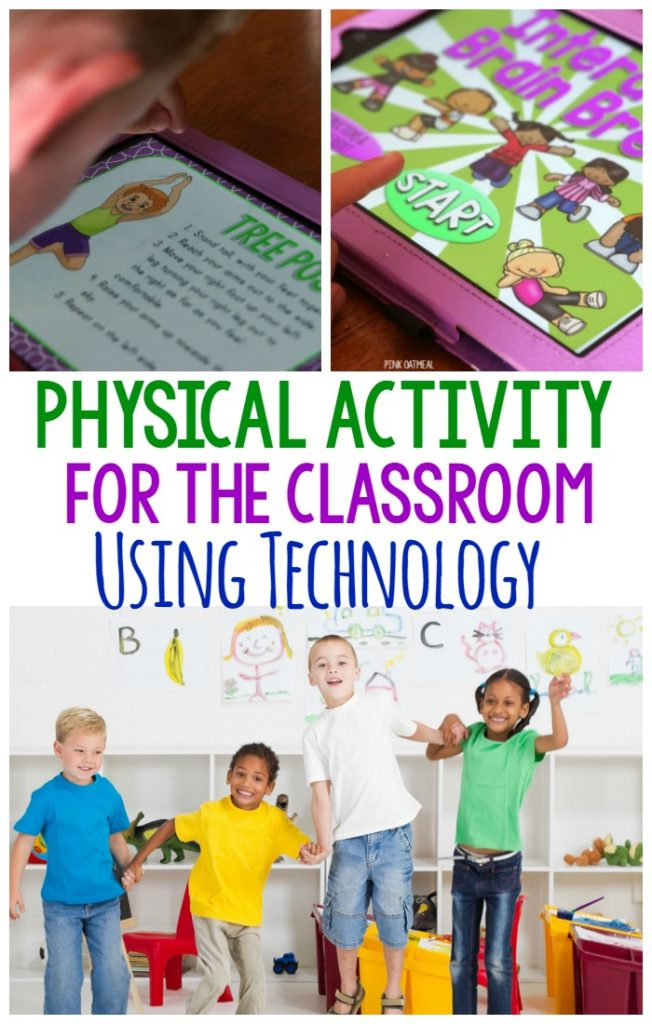 Fun ways to incorporate physical activity in the classroom using technology available in classrooms. Brain breaks for an entire class, individuals or small groups! Really great ideas plus some games and interactive ways to move!