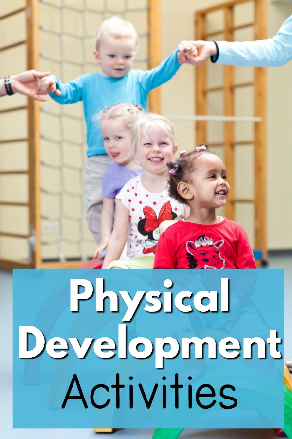 Physical Development Activities For Large Motor Skills
