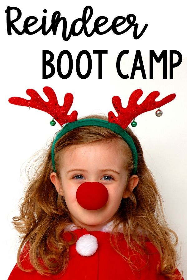 Holiday Gross Motor. Reindeer boot camp is a fun gross motor activity during the holiday season or Christmas time. It's the perfect Christmas gross motor activity for a classroom, therapy (OT, PT, SLP) or a fun activity for home!