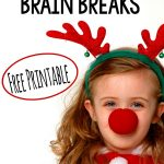 Reindeer Run – FREE Brain Break Printables