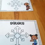 Snowflake Hop – Winter Gross Motor Game
