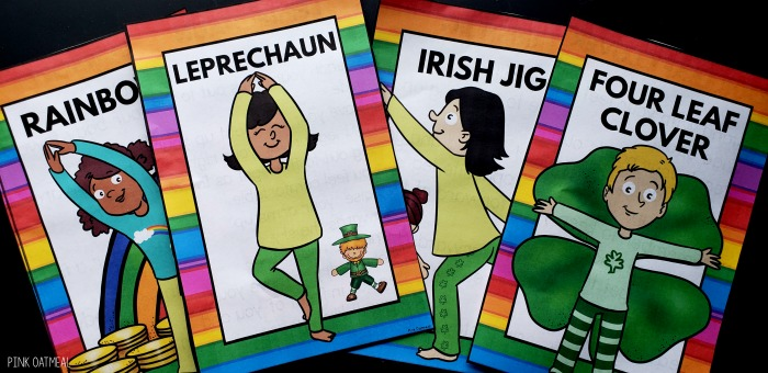 St. Patrick's Day Yoga for Kids
