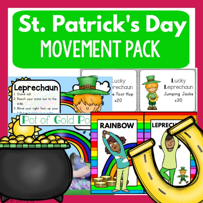 St. Patrick's Day Gross Motor