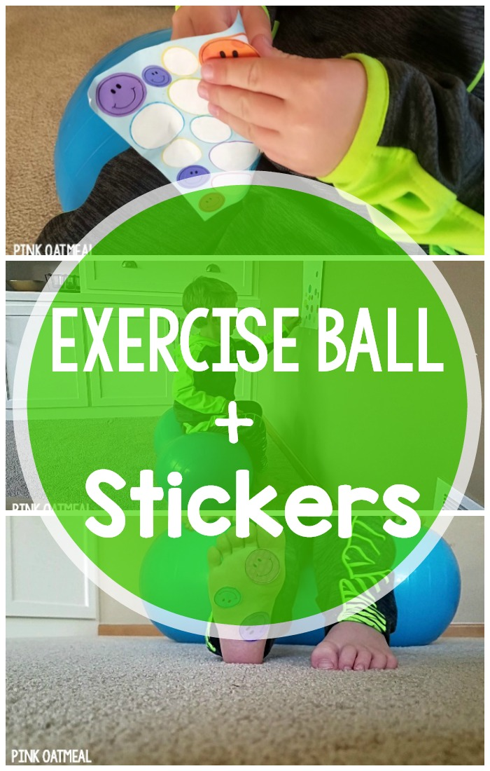 Stability Ball Activities – Stickers