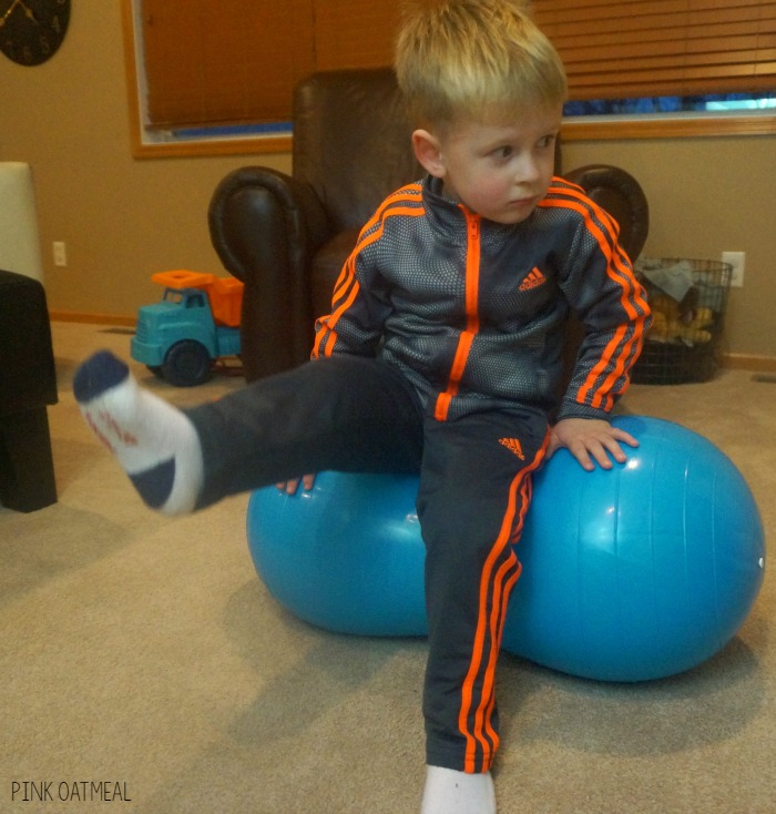 5 Fun Ways to Use an Exercise Ball For Strengthening