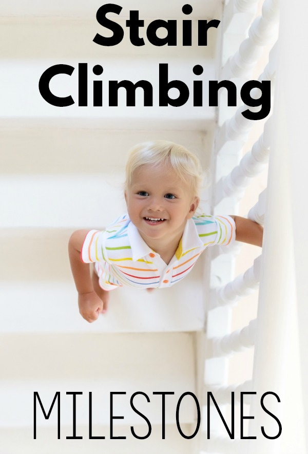 Climbing up and down the stairs has it's own set of milestones. Get the answers to when your toddler should start climbing the stairs and how the progression goes.