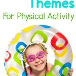 Fun summer themes that are perfect for incorporating physical activity for kids. Fun themes can make adding movement so much for more for camps, summer school, physical therapy, occupational therapy , and more!